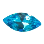 CZ: Blue Topaz - Marquise 2mm x 4mm