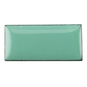 Medium Enamel Opaque Mint Green