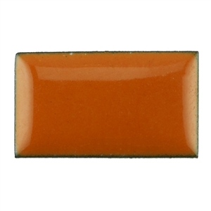 Medium Enamel Opaque Pumpkin Orange