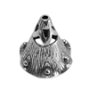 Sterling Silver Bead Cap - Canturbury Bell 8mm