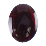 Red Paua Abalone Shell Gemstone - Cabochon Oval 8x10mm Pkg - 5