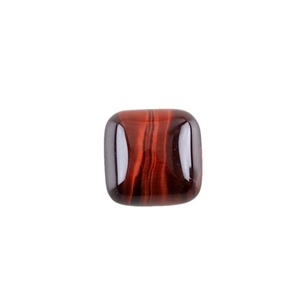 Natural Tiger Eye Red Gemstone - Cabochon Square 15mm