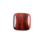 Natural Tiger Eye Red Gemstone - Cabochon Square 20mm