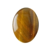 Natural Yellow Tiger Eye Gemstone - Cabochon Oval 22x30mm Pkg - 1