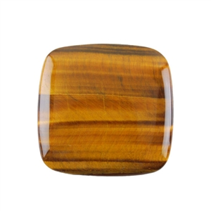Natural Yellow Tiger Eye Gemstone - Cabochon Square