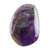 Natural Amethyst Gemstone - Cabochon Freeform 29mm x 42mm Pkg - 1
