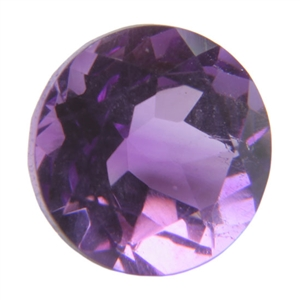 Natural Amethyst Gemstone - Round