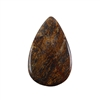 Natural Bronzite Gemstone - Cabochon Pear 26x42mm - Pak of 1