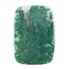 Natural Green Moss Agate Gemstone - Cabochon Rectangle 41mm x 58mm Pkg - 1