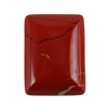 Natural Red Jasper Gemstone - Cabochon Rectangle 15mm x 20mm - Pak of 1