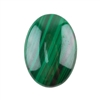 Natural Malachite Gemstone - Cabochon Oval 18x25mm