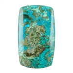 Natural Shattuckite Gemstone - Cabochon Barrel 23mm x 40mm Pkg - 1
