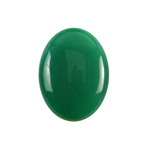 Natural Aventurine Gemstone - Cabochon Oval 6x8mm