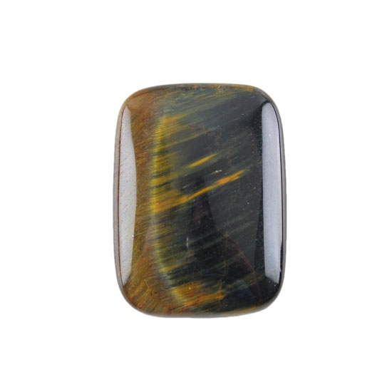 hawk s eye gemstone cabochon rectangle 22x30mm