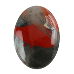 Natural Bloodstone A Gemstone - Cabochon Oval 18x25mm
