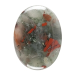 Natural Bloodstone - Cabochon Oval 22x30mm
