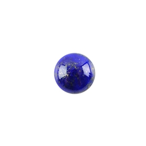 Natural Lapis Lazuli Gemstone - Cabochon Round 10mm - Pak of 1