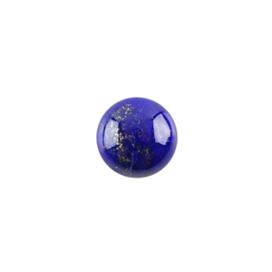 Natural Lapis Lazuli Gemstone - Cabochon Round 12mm - Pak of 1