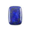 Natural Lapis Lazuli Gemstone - Cabochon Rectangle 18x25mm - Pak of 1