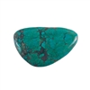 Stabilized Turquoise Gemstone - Cabochon Freeform 26x42mm - Pak of 1