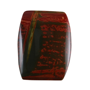 Red Creek Jasper Gemstone - Cabochon Barrel 25x32mm - Pak of 1