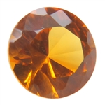 Lab Corundum Citrine: Round 6mm