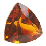 Lab Corundum Citrine: Trillion 8x8mm