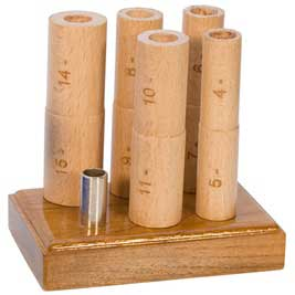 Wood Multi-Mandrels - Whole Size