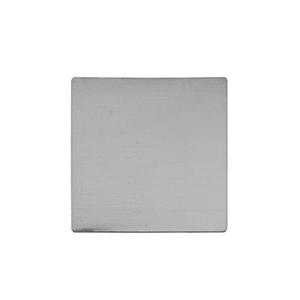 Sterling Silver Shape - Square - 1-1/2""