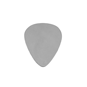 Sterling Silver Shape - Guitar Pick - 5x7mm