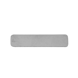 Sterling Silver Shape - Rectangle - 9.5x45mm