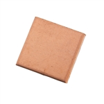 "Copper Shape - Square - 3/4"" Pkg - 6"