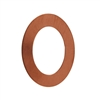 Copper Shape - Oval Washer 24 gauge