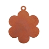 Copper Shape - Flower Pendant - 25 x 30.5mm