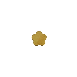 Brass Blank - Flower - 10.5mm Pkg - 10