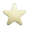 Brass Blank - Star - 20mm