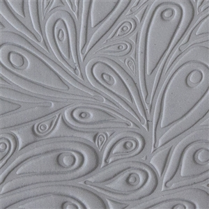 Mega Tile - Peacock Embossed