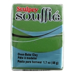 Sculpey Souffle Polymer Clay - Pesto 2 oz block