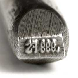 Quality Stamp - .999FS - Straight