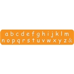 Comic Letter Stamps - Lower Case 3mm