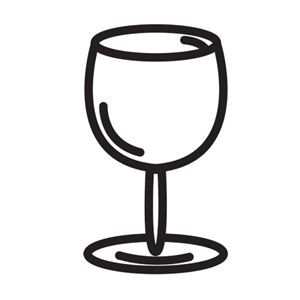Design Stamp - Wine Glass