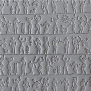 Rollable Texture Tile - Ancient People