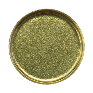 Brass Bezel Cup Round 8mm