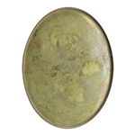 Brass Bezel Cup Oval 30x40mm