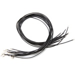 Leather Cord Black 16""