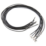 Leather Cord Black 18""