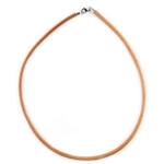 Leather Cord Tan 3.8mm