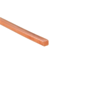 Craft Wire - Copper Square 21 gauge