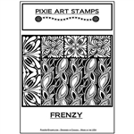 Pixie Art Texture Stamp - Frenzy