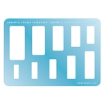 Jewelry Shape Template - Jewelry Rectangle Medium